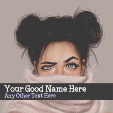 Beautiful Eyes - Design your own names