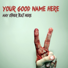 Cool name pictures - Bleeding Victory