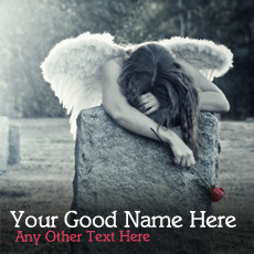 Girls name pictures - Broken Angel Girl