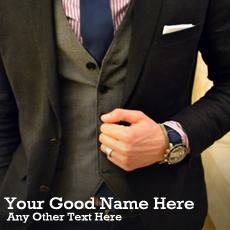 Boys name pictures - Classy Style