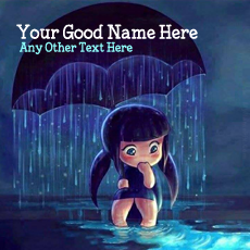 Cute name pictures - Cute Girl in Rain