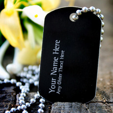 Jewelry name pictures - Dog Tag Necklace