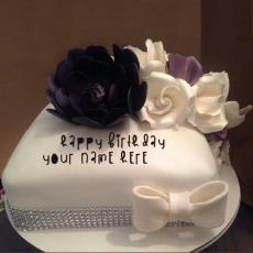Beautiful Cake - Design your own names