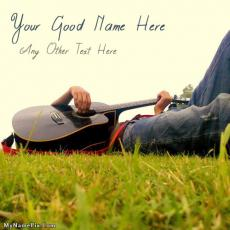 Boys name pictures - Boy With Guitar