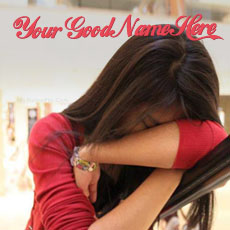 Girls name pictures - Broken Girl Crying