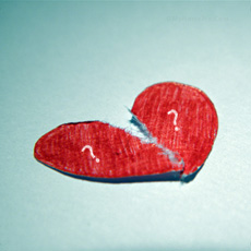 Alphabets name pictures - Broken Heart