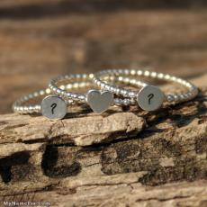 Alphabets name pictures - Couple Bracelets