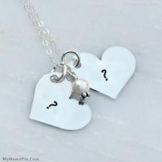 Alphabets name pictures - Couple Hearts