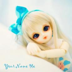 Dolls name pictures - Cute Little Doll