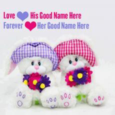 Cute Love Forever - Design your own names