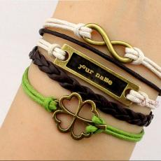 Jewelry name pictures - Golden Charm Bracelets