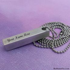 Jewelry name pictures - Hand Stamped Pendant