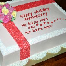 Happy Wedding Anniversary - Design your own names
