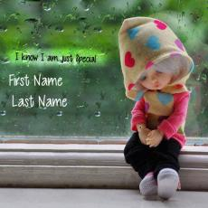 Dolls name pictures - I know I am just Special