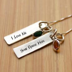I Love Me Necklace - Design your own names