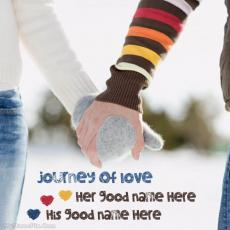 Journey Of Love - Design your own names
