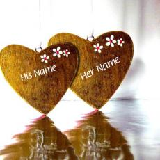 Love Nick Name Hearts - Design your own names