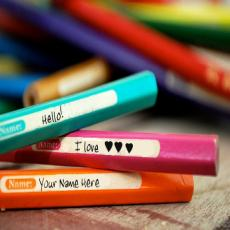 Love Pencils - Design your own names