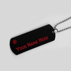 Jewelry name pictures - Medical Alert Necklace