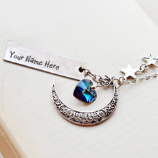 Jewelry name pictures - Moon Heart Necklace