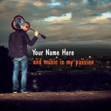 Music is my passion - Design your own names