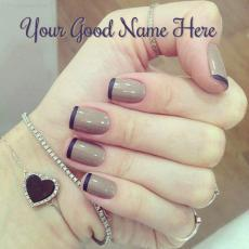 Nail Art - Design your own names