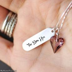 Necklace in Hand - Design your own names