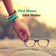 Picking Glasses - Design your own names