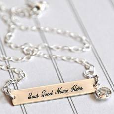 Plain Necklace - Design your own names