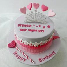 Princess Cake - Design your own names