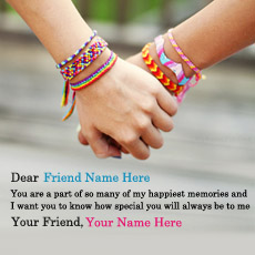 Friendship name pictures - Real True Friendship