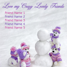 Friendship name pictures - Love Crazy Friends