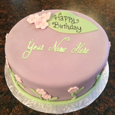 Birthday Cakes name pictures - Pretty Birthday Cake