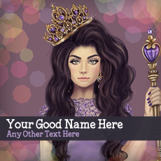 Princess Girl - Design your own names