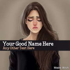 name pictures - Sweet Girl Crying