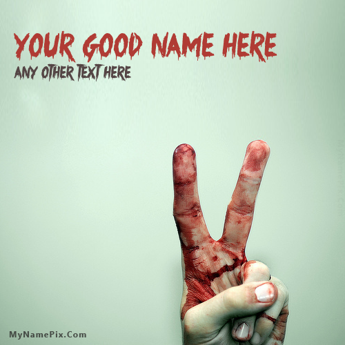 Design your own names of Bleeding Victory