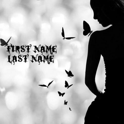 Design your own names of Butterfly Girl