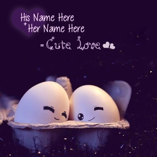 Design your own names of Cute Love