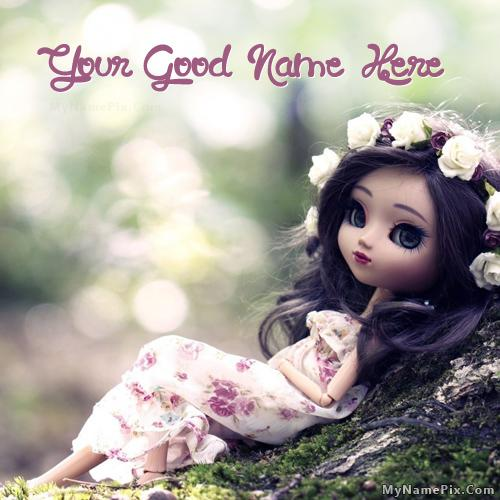 Design your own names of Cute Stylish Doll