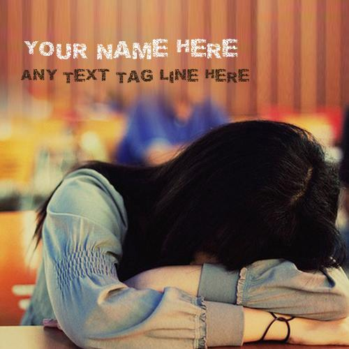Design your own names of Girl Crying