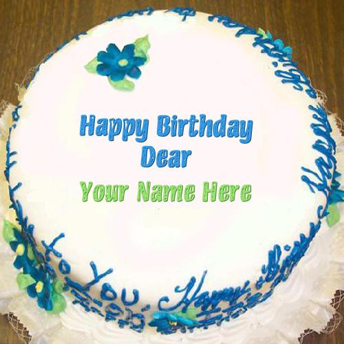 Design your own names of Happy Birthday Dear