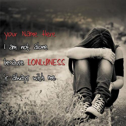Design your own names of I am not alone
