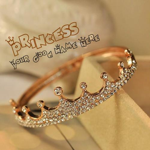 Design your own names of Princess Crown