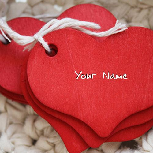 Design your own names of Red Heart