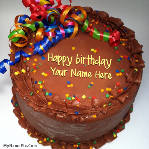 Design your own names of Party Birthday Cake