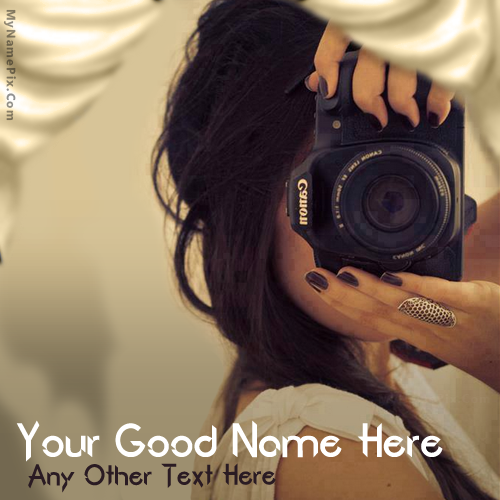 Design your own names of Photographer Girl