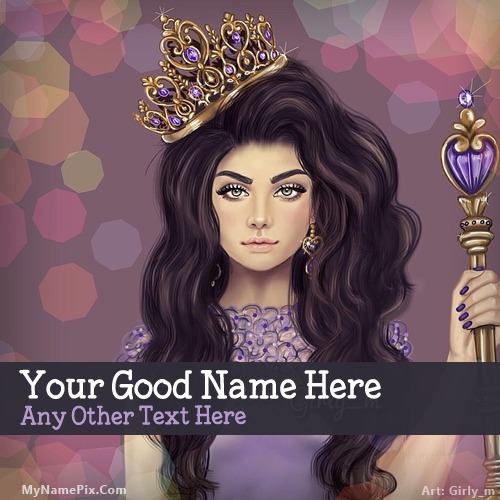 Design your own names of Princess Girl