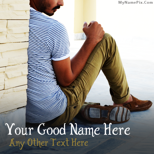 Design your own names of Stylish Guy DP