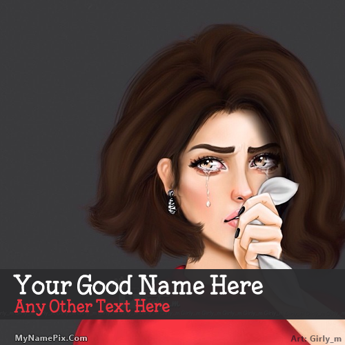 Design your own names of Tears in Eyes